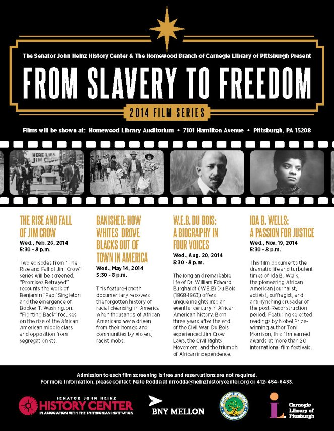 2014 From Slavery to Freedom Film Series